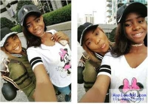 Photos: Actress Iyabo Ojo & Her Daughter Show Off Street Style In The U.S